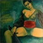 Women Weapons Series Judit 70x70 Cm 2001