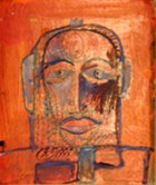 Hutzul Masks3 Hutzul Masks Series Oil On Cardboard 25x15 Cm 1997.jpg