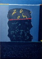 King1 Kings And Cabbage Series Oil On Canvas 70x50 Cm 1996