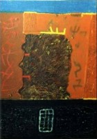 King6 Kings And Cabbage Series Oil On Canvas 70x50 Cm 1996