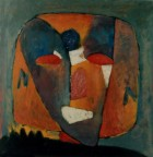 Portrait Oil On Canvas 70x70 Cm 2003