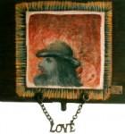 Saga Of Dgemory Series Miniature2 Oil On Canvas 14x18 Cm 1995